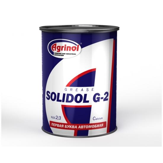Смазка пластичная Агринол Солидол Ж-2 NLGI 2/3 0.4 кг