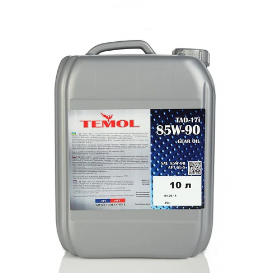Масло трансмиссионное минеральное Temol ТАД-17І 85W-90 10 л