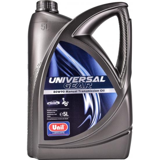 Масло трансмиссионное Unil Universal Gear 80W90 GL 4/5 5 л