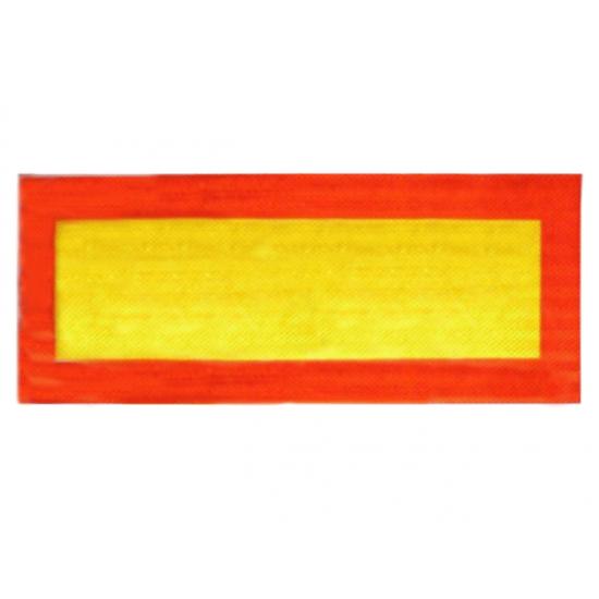 Табличка (наклейка) длинномерный груз светоотражающая 200Х560 мм Tempest TP 87.56.97