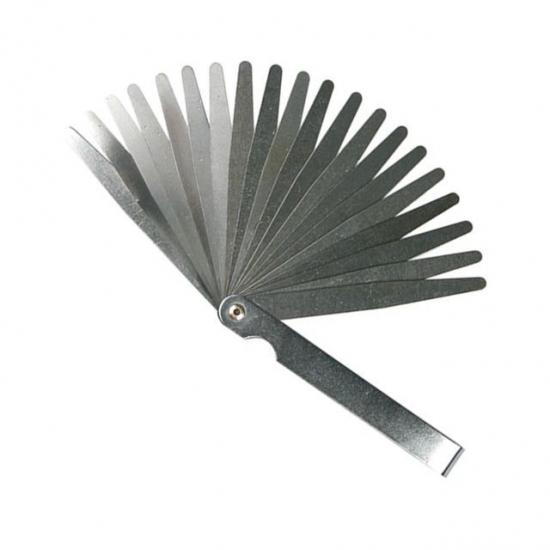 Щуп для измерения зазоров 0.05-1.0 мм 20 шт Intertool AT-0002
