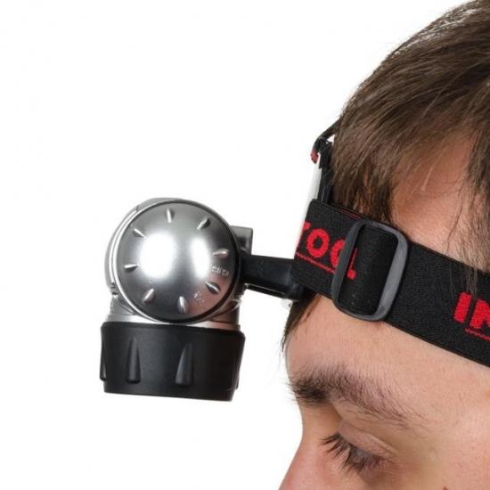 Фонарь налобный светодиодный 19 LED Intertool LB-0301