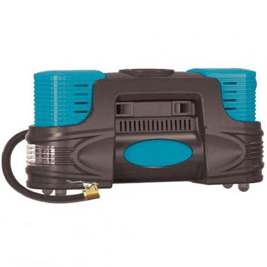 Компрессор автомобильный AUTO WELLE AW01-20 электронасос для шин в прикуриватель