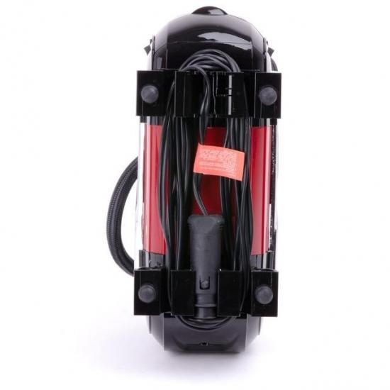 Компрессор автомобильный 12В один цилиндр 30 мм Intertool AC-0002