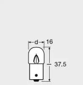 Размеры лампы накаливания Osram 5627-UNV
